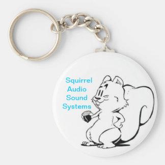 Squirrel Audio Sound Systems KeyChain