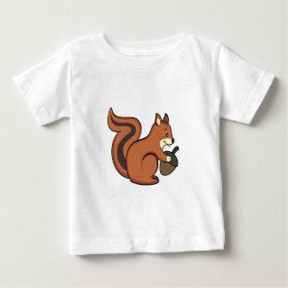 Squirrel baby shirt