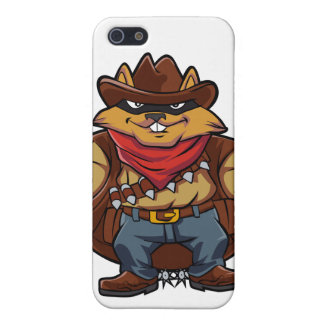 Squirrel Bandit iPhone SE/5/5s Cover