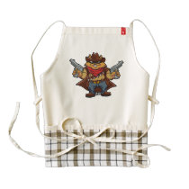 Squirrel Bandit Zazzle HEART Apron