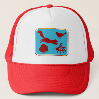 Squirrel Bee Tree Bird Hat