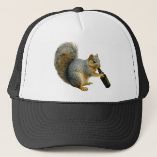 Squirrel Beer Trucker Hat