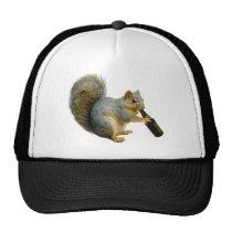 Squirrel Beer Trucker Hat