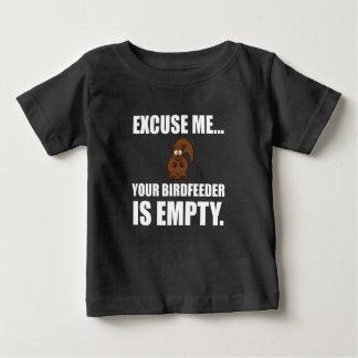 Squirrel Birdfeeder Empty Baby T-Shirt