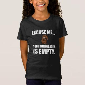 Squirrel Birdfeeder Empty T-Shirt