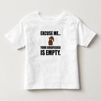 Squirrel Birdfeeder Empty Toddler T-shirt