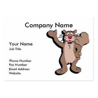 Squirrel Business Card