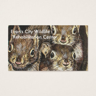 Squirrel Business Card Template