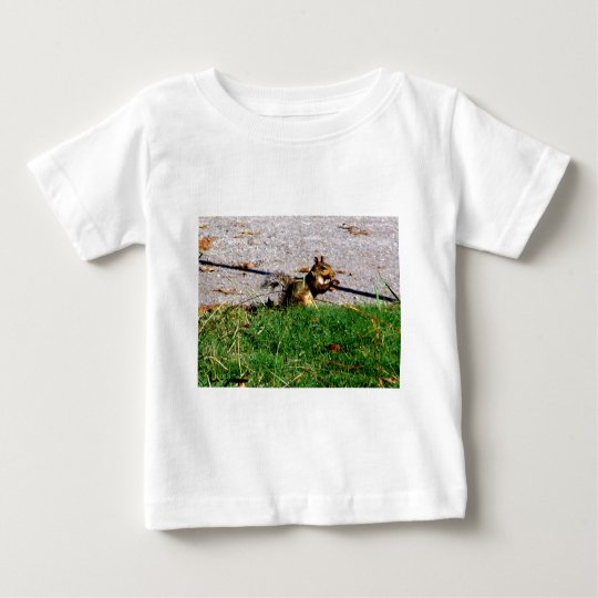 Squirrel By The Road Baby T-Shirt