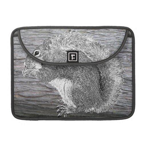 Squirrel Camo Sleeves For MacBook Pro