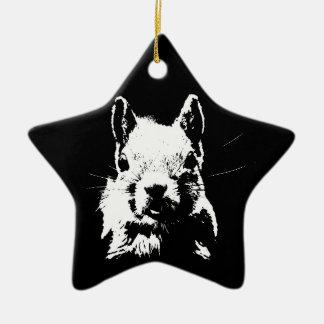 Squirrel Ceramic Ornament