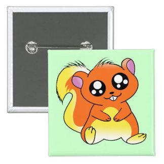 Squirrel Chan Pins