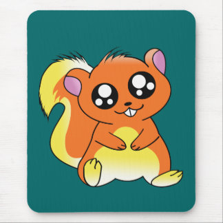 Squirrel Chan Mouse Pad
