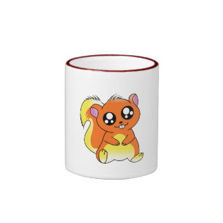 Squirrel Chan Ringer Mug