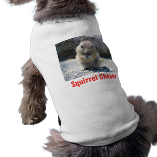 Squirrel Chaser shirt with squirrel photo
