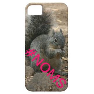 Squirrel Chipmunk #noms Hashtag iPhone 5/5S Case