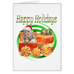 Squirrel Christmas Greeting Card