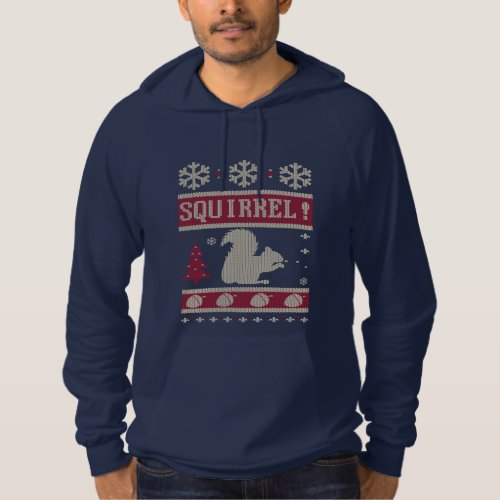 Squirrel Christmas Hoodie After Christmas Sales 2414