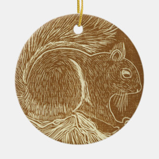 Squirrel Christmas Ornament