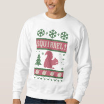 Squirrel Christmas Sweatshirt
