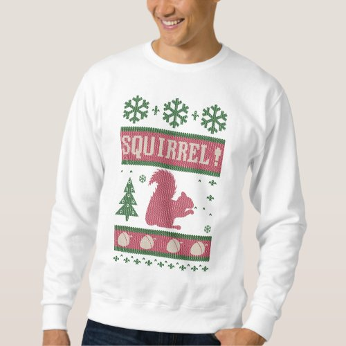 Squirrel Christmas Sweatshirt After Christmas Sales 2418