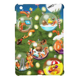 Squirrel Christmas Tree Case For The iPad Mini