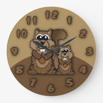 Squirrel Clock