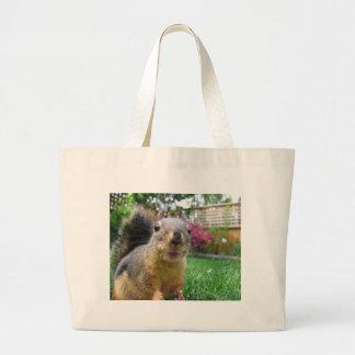 Squirrel Closeup Bags