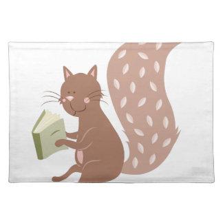 Squirrel Cloth Placemat