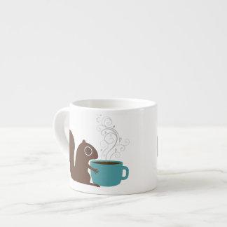 Squirrel Coffee Lover Espresso Cup