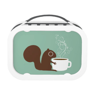 Squirrel Coffee Lover Replacement Plate