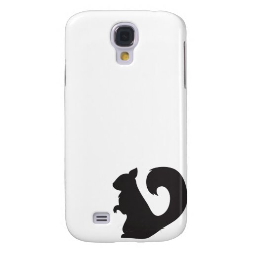 Squirrel critter woodland silhouette graphic samsung galaxy s4 cover