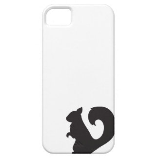 Squirrel critter woodland silhouette graphic iPhone SE/5/5s case