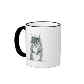 Squirrel Drawing Mug
