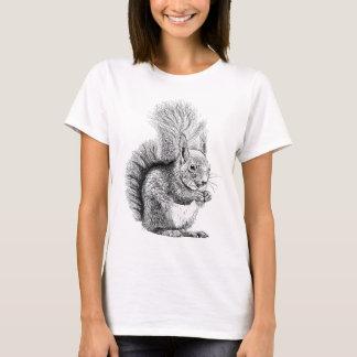Squirrel Drawing T-Shirt
