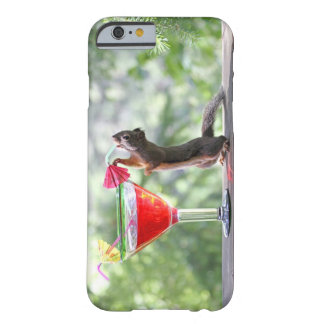 Squirrel Drinking a Cocktail at Happy Hour Barely There iPhone 6 Case