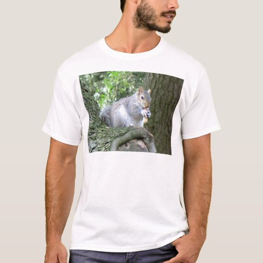 Squirrel eating a monkey nut T-Shirt