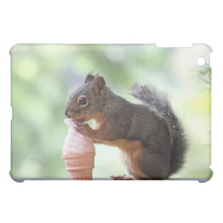 Squirrel Eating an Ice Cream Cone Cover For The iPad Mini