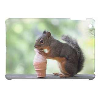 Squirrel Eating an Ice Cream Cone iPad Mini Covers