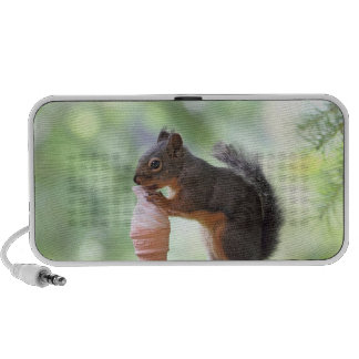 Squirrel Eating an Ice Cream Cone Travel Speakers