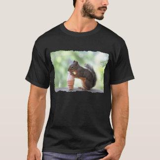 Squirrel Eating an Ice Cream Cone T-Shirt