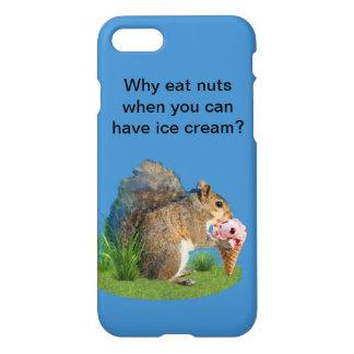 Squirrel Eating Ice Cream Cone iPhone 7 Case
