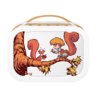 Squirrel Girl Getting Acorn Lunch Box