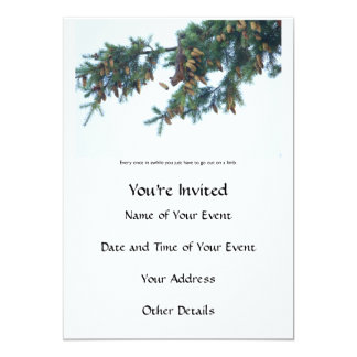 Squirrel Going Out on a Limb Card