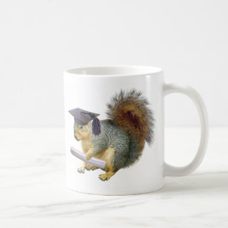 Squirrel Graduation Mug