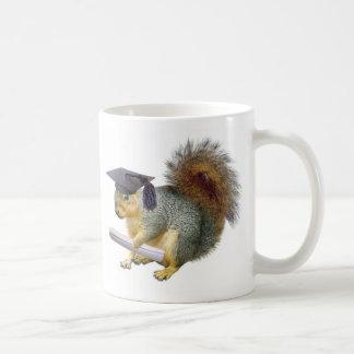 Squirrel Graduation Mug