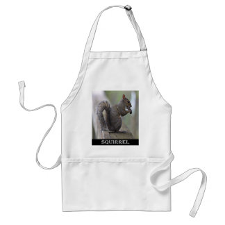 Squirrel (Grey) Adult Apron