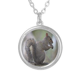 Squirrel Grey Custom Necklace