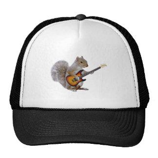 Squirrel Guitar Trucker Hat