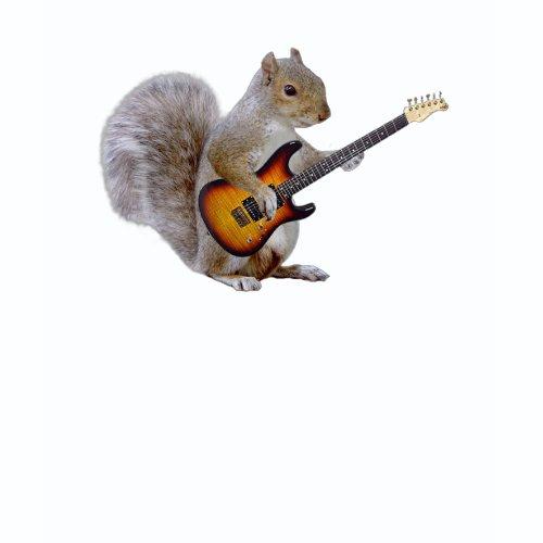 Squirrel Guitar shirt